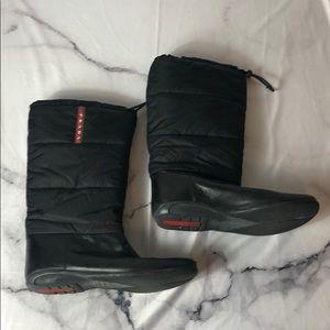 Prada winter boots